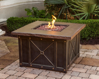 Cambridge gas fire pit
