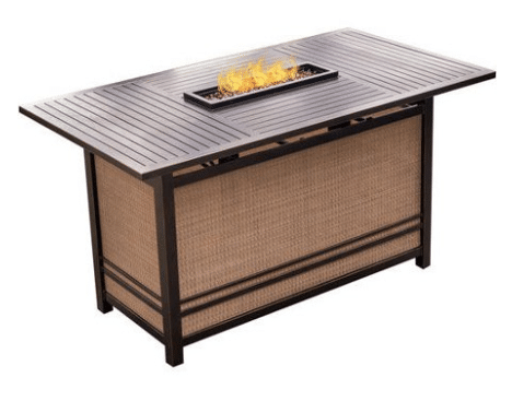Hanover Traditions bar height fire pit