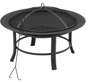 Mainstays 28 inch wood burning fire pit