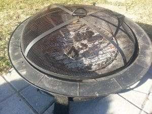 Wood burning Patio Fire Pit Design Ideas