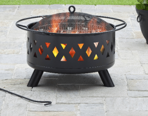Better Homes and Gardens Lattice fire pit