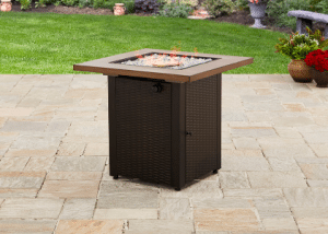 Mainstays Laurel gas fire pit