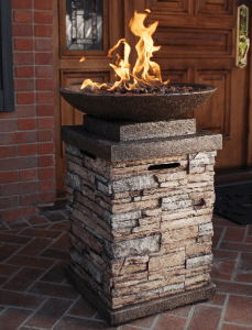 Newcastle gas fire pit