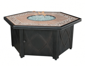 Uniflame Hex gas fire pit