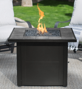 Uniflame tile top gas fire pit