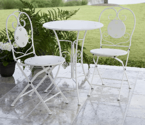 Cosco folding chair bistro set