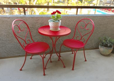 Mainstays Scroll Metal Garden Bistro Set Review