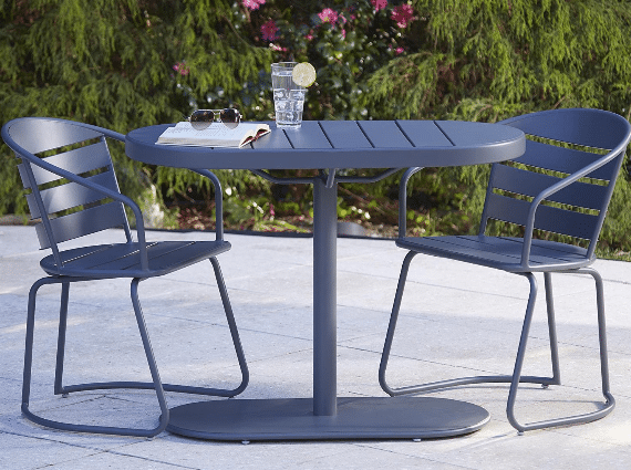 Cosco Metro Retro Nesting bistro set gray