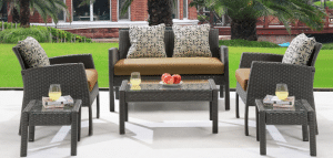 Hanover Chelsea Patio Chat Set