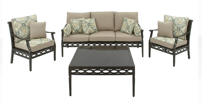 Hanover Cortez Patio Conversation Set