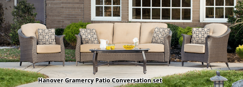 Hanover Gramercy wicker conversation set review