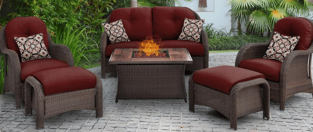 Hanover Newport patio conversation set