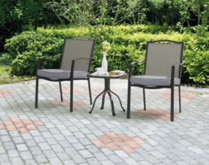 Oakmont Meadows Patio Bistro Set