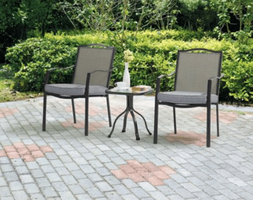 Mainstays Oakmont Meadows Patio Furniture Bistro Sets Review