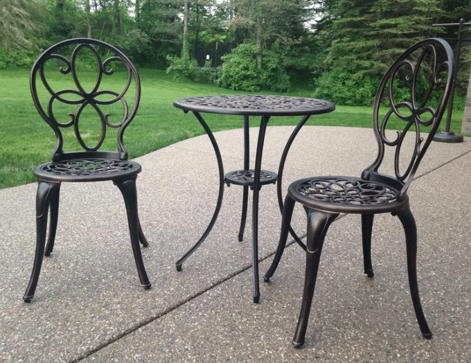 Patio Sense Bistro Set