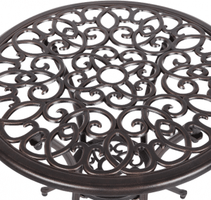 Patio Sense Cast Aluminum bistro table top