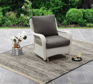 Wicker patio furniture sets-Colebrook Glider chair