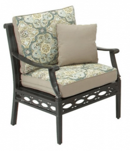 Cortez patio conversation set chair