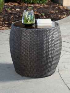 Gramercy barrel side table