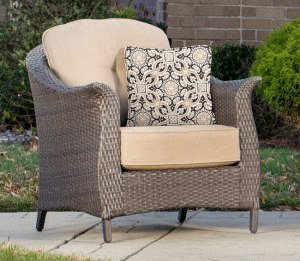 Gramercy resin wicker chair