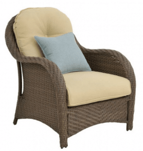 Newport resin wicker chair