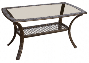Orleans resin wicker coffee table