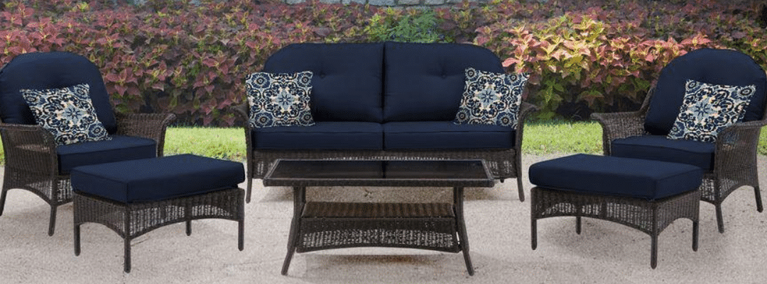 Hanover San Marino Outdoor Wicker Conversation Set Review