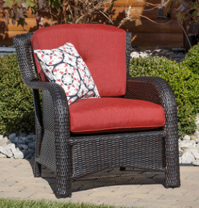 Strathmere resin wicker chair