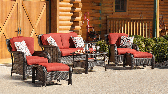 Strathmere resin wicker outdoor furniture sets