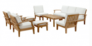 Get a full set of Patio Furniture Sets in Teak