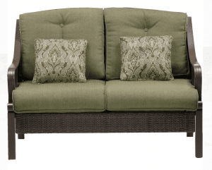 Ventura cushioned love seat