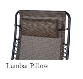 Big and Tall swing lumbar Pillow