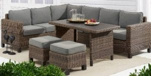 Brookbury All Weather Wicker Patio Set