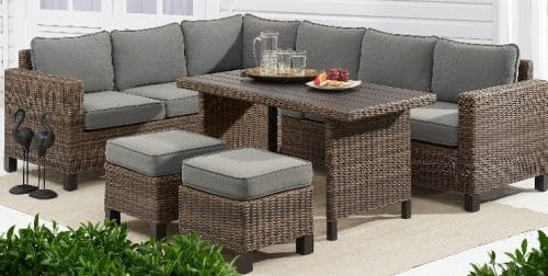 Brookbury All Weather Wicker Patio Set Review