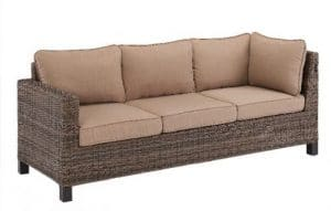 Brookbury all weather wicker sofa