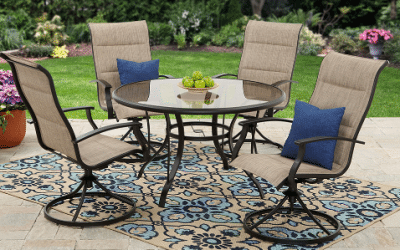 What Patio Dining Set for 4 Will work for You