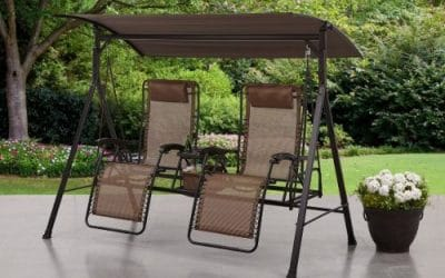 Mainstays Big and Tall Zero Gravity Double Swing Review