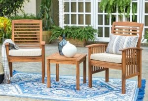 Manor Park Acacia Chat Set