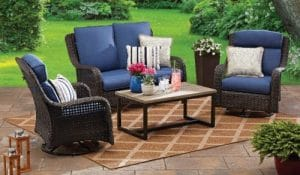 Ravenbrooke Patio Furniture with Love Seat