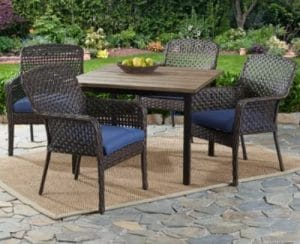Ravenbrooke patio dining set for four