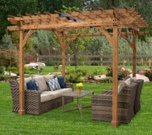 Backyard Discovery Cedar Pergola 10 x 10