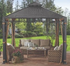 Better Homes & Gardens Hardtop Gazebos for Decks