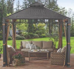 Deck Shade Solutions-Better Homes & Gardens Hardtop Gazebos