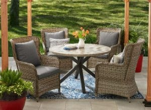 Better Homes and Gardens Victoria patio dining set