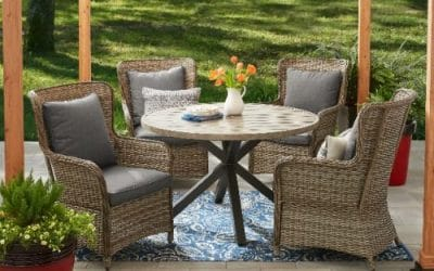 Better Homes and Gardens Victoria 5 pc Dining Set for your Patio