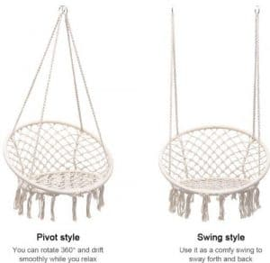 Hanging chair 2 styles