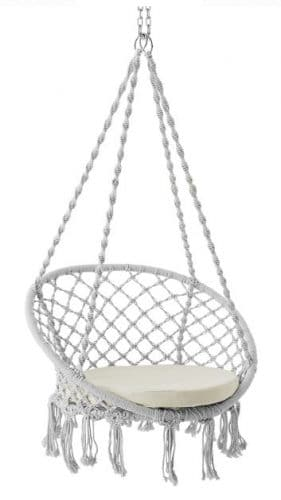 Better Homes & Gardens Harlow Rope Hammock Swing Chair