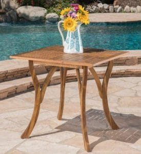 Kamala square patio dining table