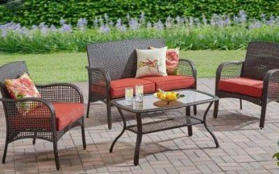 Mainstays Cambridge Park Outdoor Wicker Patio Conversation Sets