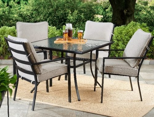 Mainstays Richmond Hills Dining patio furniture set